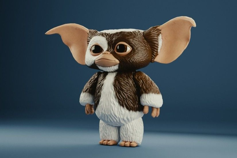 gizmo toy gremlin 3d model obj mtl 3ds fbx stl blend abc 1 ...