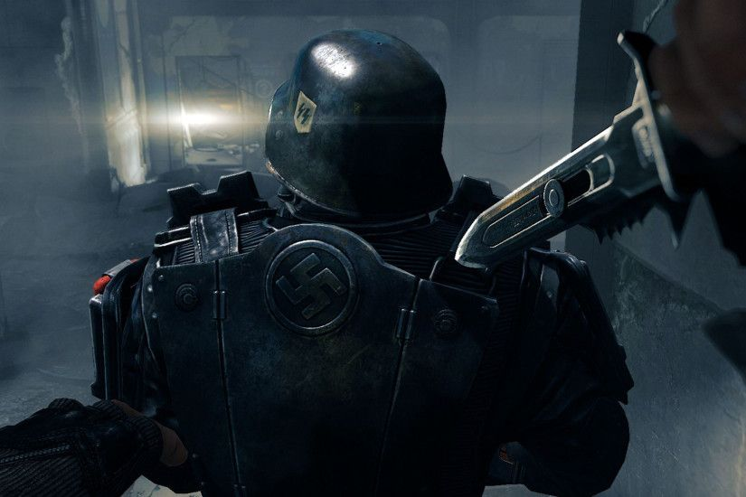 fps first person shooting screenshot footage wolfenstein the new order