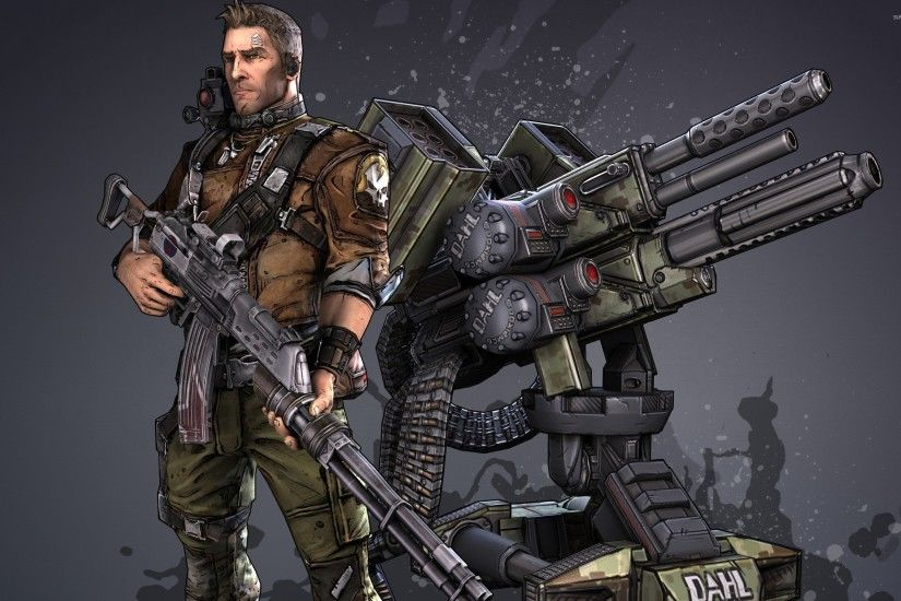 Axton - Borderlands 2 wallpaper