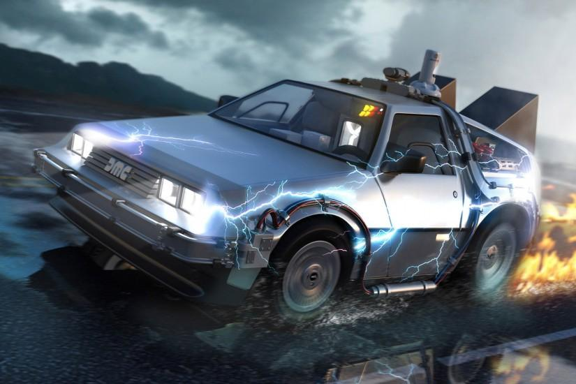 DeLorean - Back to the Future Wallpaper #7882