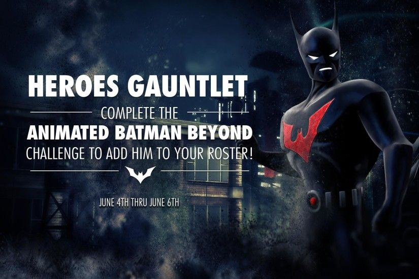 Animated Batman Beyond Challenge For Injustice Mobile | Injustice Online