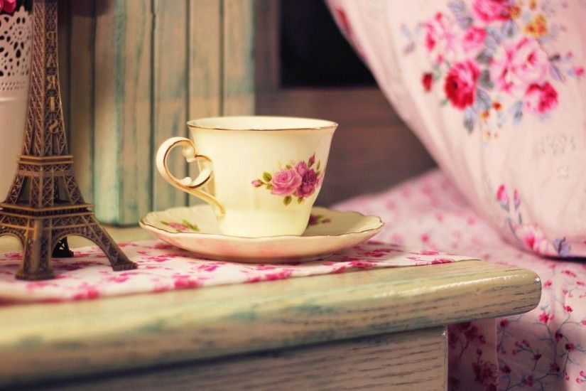 Images For > Teacup Wallpaper