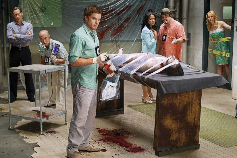 3840x2160 Wallpaper dexter, main characters, crime, celebrities, situation