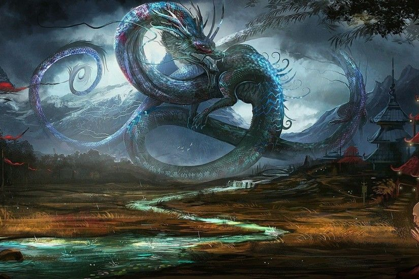 Hd Wallpaper 1920x1080 Dragon Fantasy dragons images hd