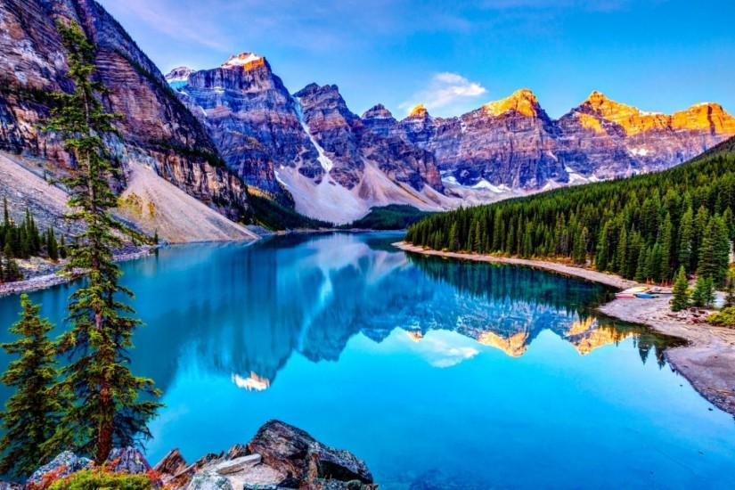 HD Rocky Mountains Wallpapers backgrounds computrer