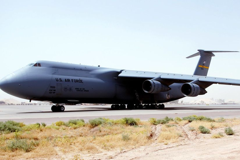 C 5 Galaxy at Balad Air Base Iraq