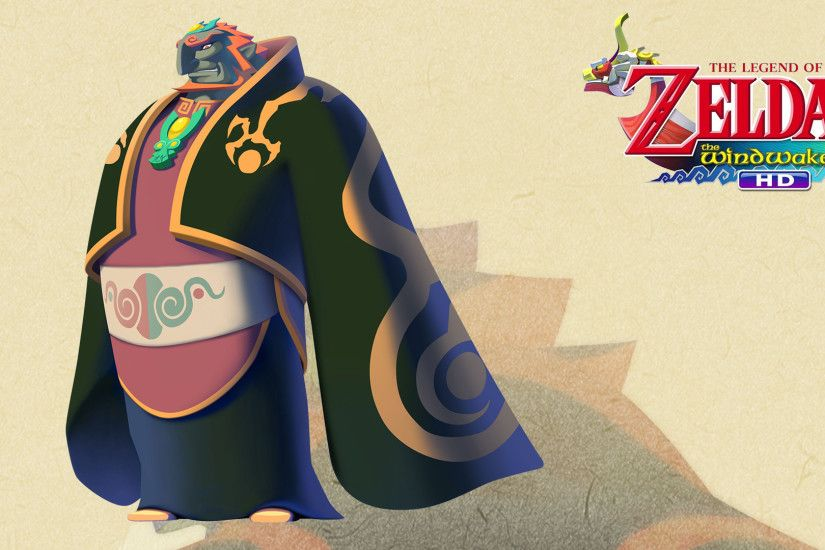 ... TLoZ: The Wind Waker - Wallpaper - Ganondorf by Thelimomon