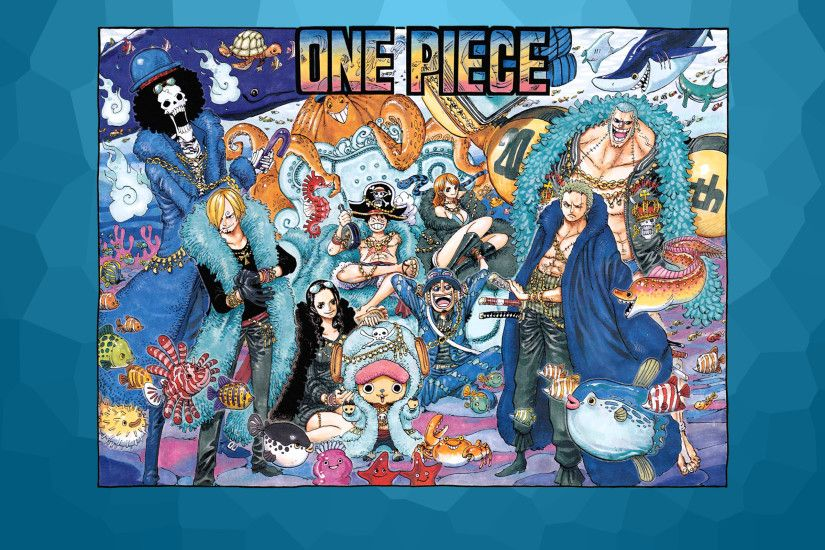 One Piece 20th Anniversary Wallpaper - Please enjoy!