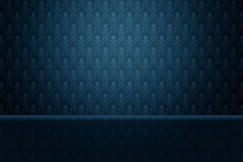 Blue Floral Pattern wallpapers and stock photos