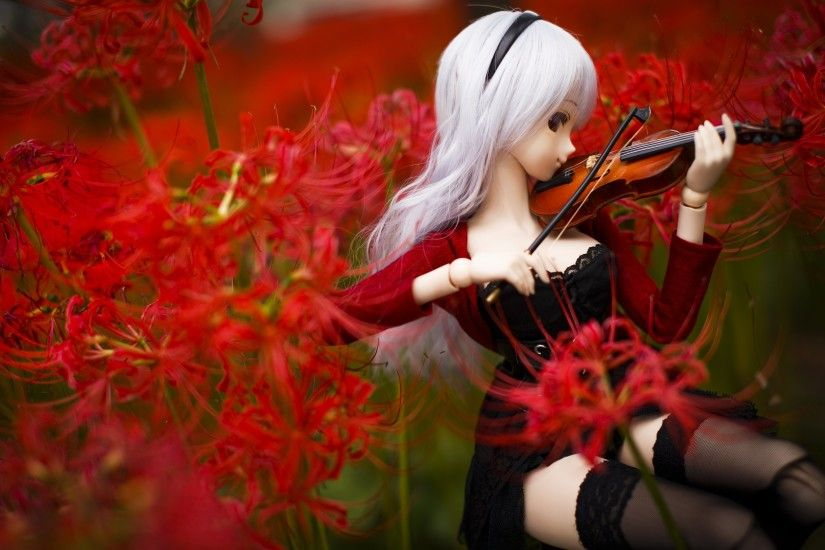 Dollfie doll lovely beauty toy cute sweet beautiful wallpaper .