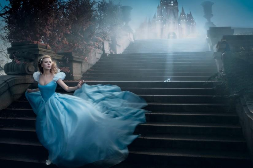 Scarlett Johansson As Cinderella wallpapers HD free - 410339