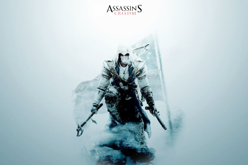 Assassin's Creed III Wallpaper by aquil4 Assassin's Creed III Wallpaper by  aquil4