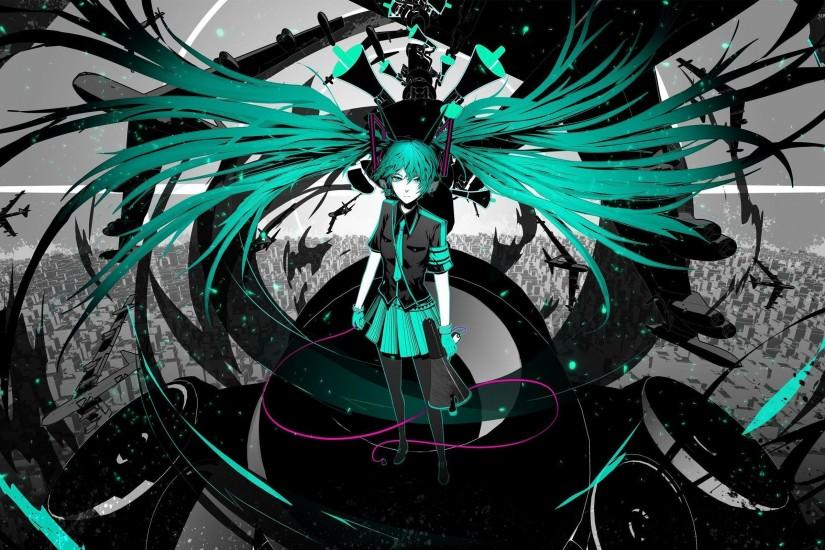 hatsune miku wallpaper 2560x1600 windows