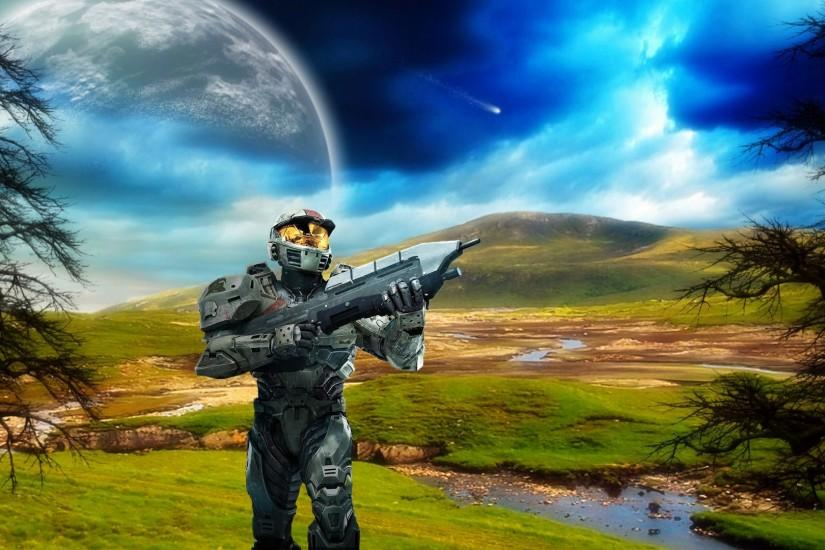 popular halo backgrounds 3840x2160 picture