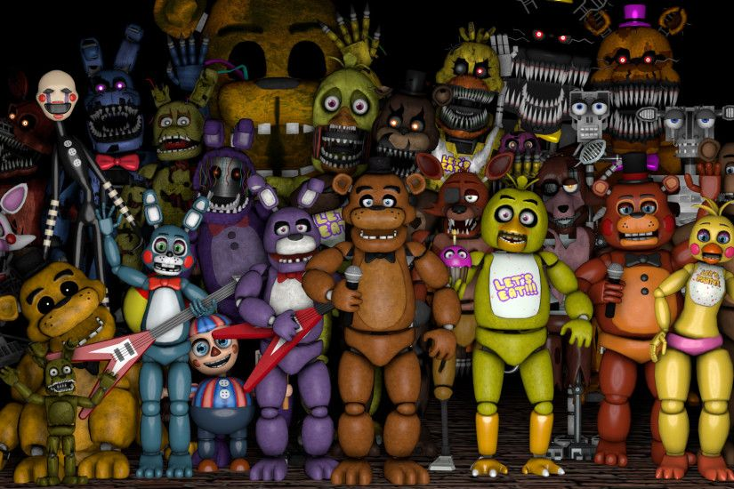 ... Five Nights at Freddy's Thank You Poster by RobinOlsen2011