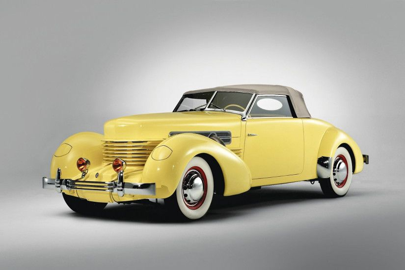Classic Yellow Car Wallpaper 32646