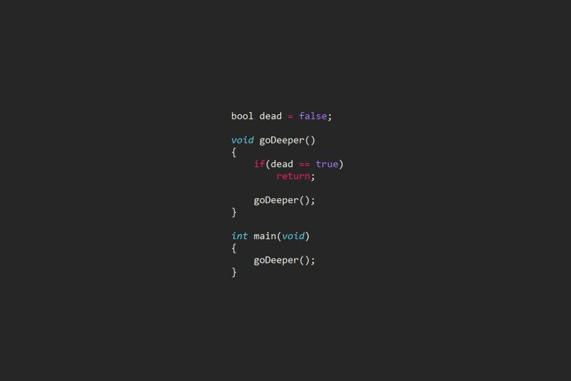code, Computer, Syntax Highlighting, Inception, Programming, Programming  Language, C (