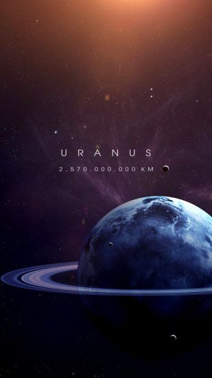 Uranus #planets #uranus #space Galaxy Background, Space Artwork, Wallpaper  Space,