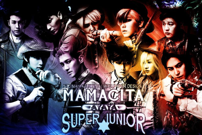1920x1080 SUPER JUNIOR MAMACITA WALLPAPER BY NAZIMAH AGUSTINA