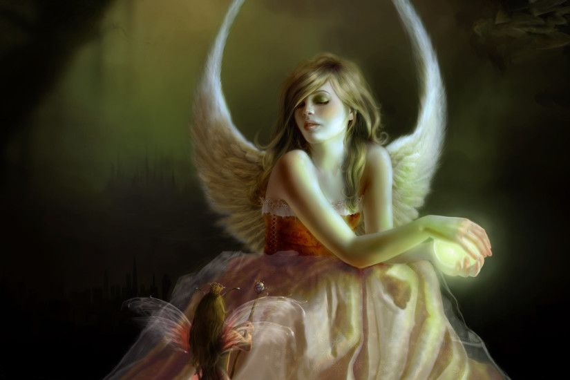2560x1600 Free angels and fairies wallpaper background