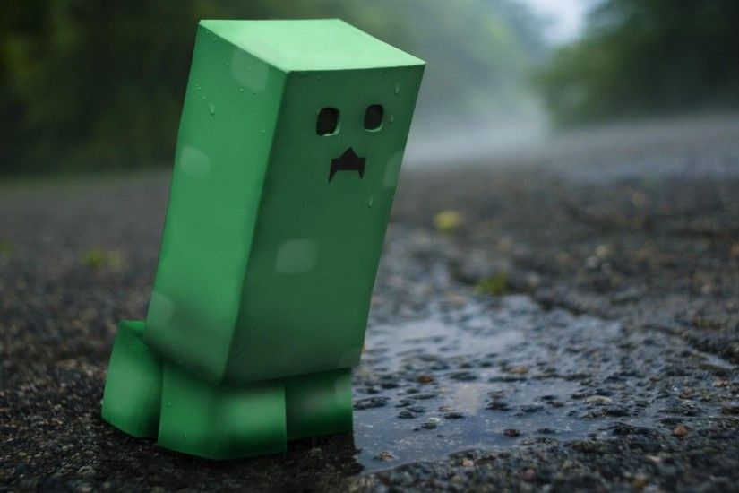Minecraft Creeper Wallpapers 3D HD Wallpaper