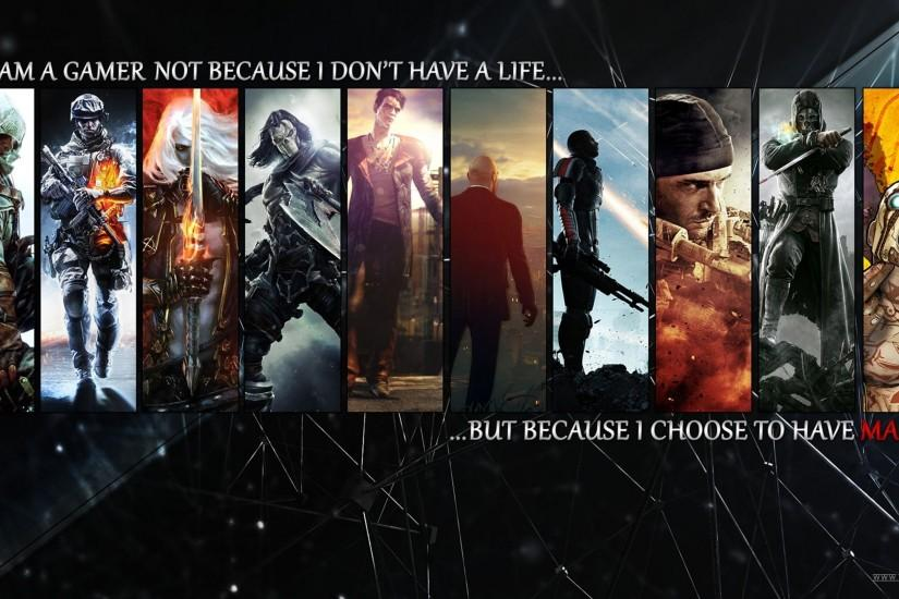Wallpapers For > I Am A Gamer Wallpaper Hd