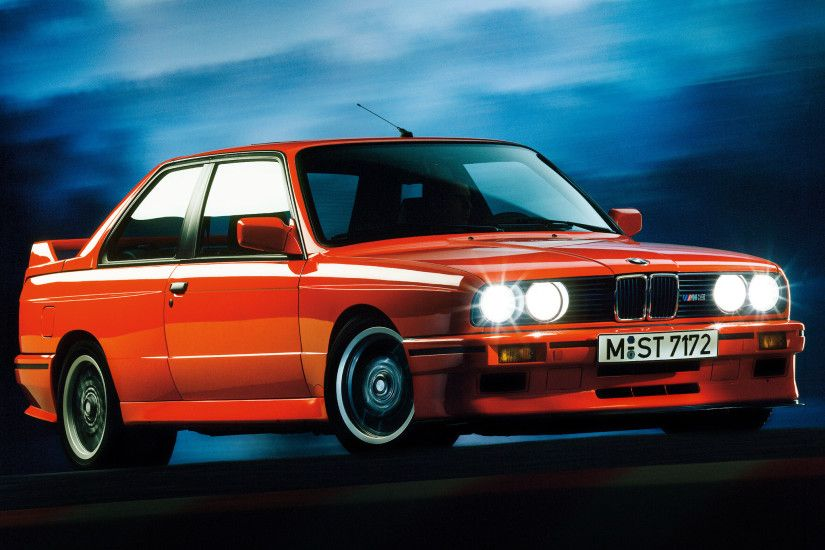 BMW M3 Sport Evolution (E30) '01–03.1990 wallpaper
