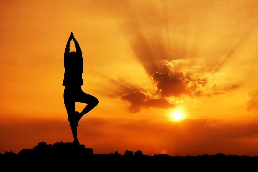 Yoga Meditation Wallpaper Stock Pictures En03085w