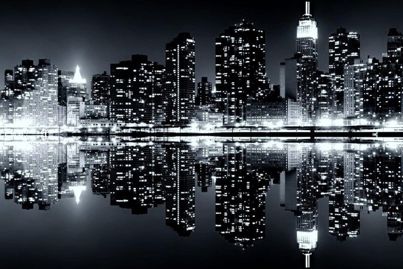New York Skyline Wallpaper Black And White wallpaper - 1115517