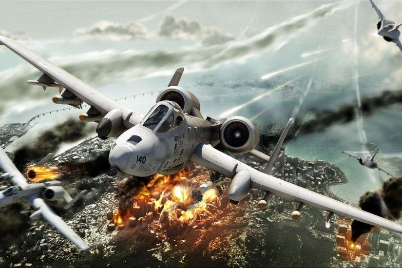 a 10 thunderbolt ii air support wallpapers - DriverLayer Search Engine