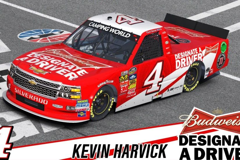 Kevin Harvick - Budweiser NASCAR Camping World Chevrolet Silverado by  Timothy Collier
