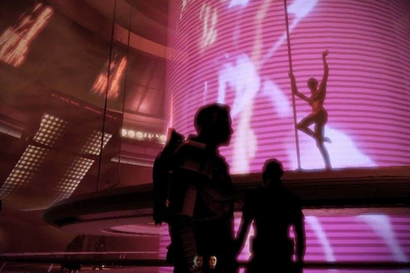 Mass Effect 2 - Club Afterlife: Asari Stripers