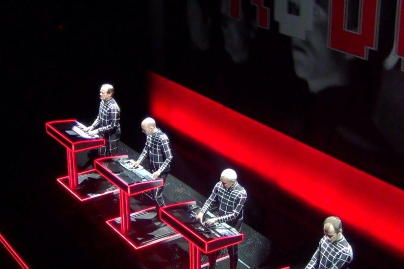 Kraftwerk Sydney Australia May 2013 HD Video 5