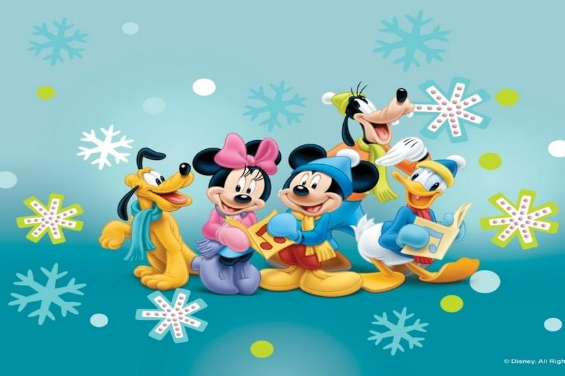 Disney Wallpapers, HD Desktop Wallpapers, Mickey Mouse and Friends .