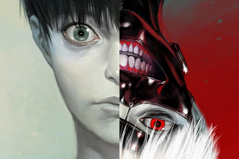 Ken Kaneki Tokyo Ghoul Anime Mask HD 1920x1080 1080p Wallpaper And