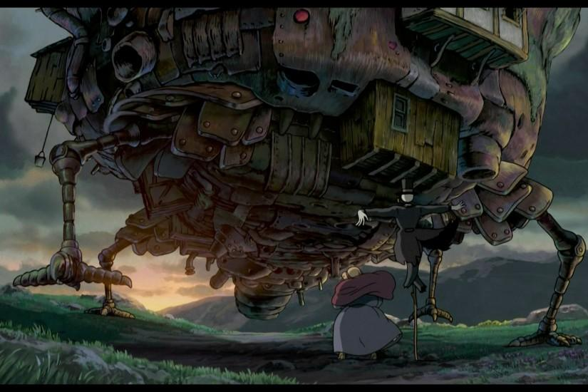 large howls moving castle wallpaper 1920x1080 for iphone 6