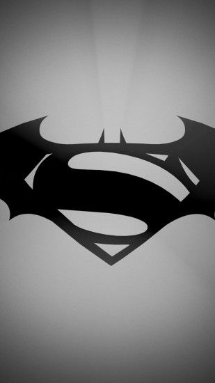 ... Batman vs superman logo wallpaper | (84180) ...