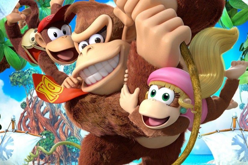 18 Donkey Kong Country: Tropical Freeze HD Wallpapers | Backgrounds -  Wallpaper Abyss