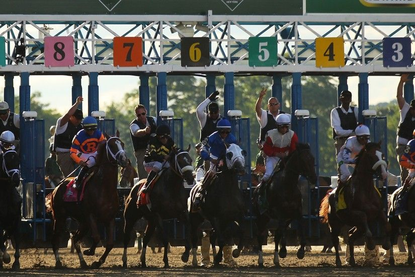 3840x2160 Wallpaper belmont stakes, horse racing, competition