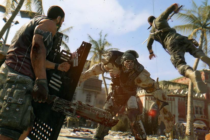 Dying Light Fight Gameplay 1920x1080 wallpaper