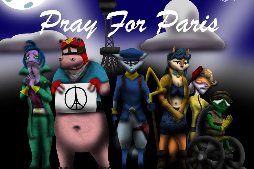 ... The Cooper Gang Prays for Paris by Playstation-Jedi