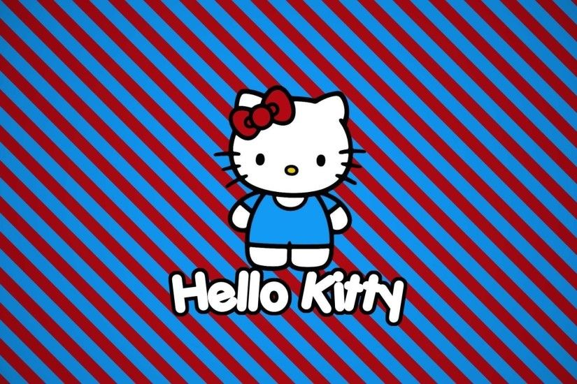 Hello Kitty Cartoon Background