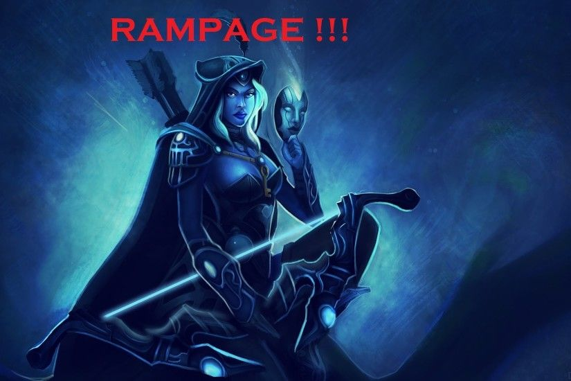 ... Dota2 : Drow Ranger HD Desktop Wallpapers ...