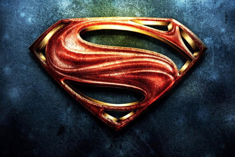 Superman Logo Ipad Wallpaper Free Download.