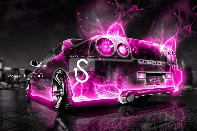 Nissan Skyline R34 Abstract Car City 2013 Â« el Tony