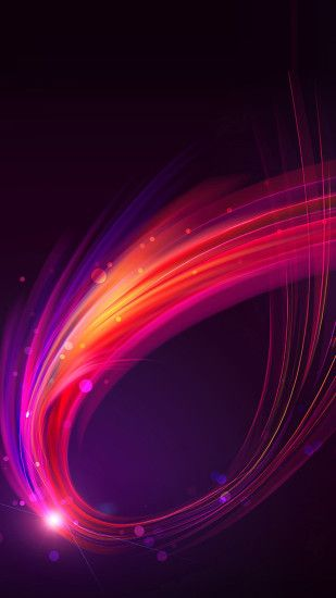 Purple And Pink Swirl Wallpaper