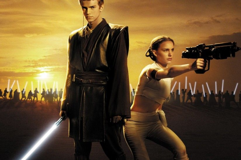Anakin & Padme Wallpaper