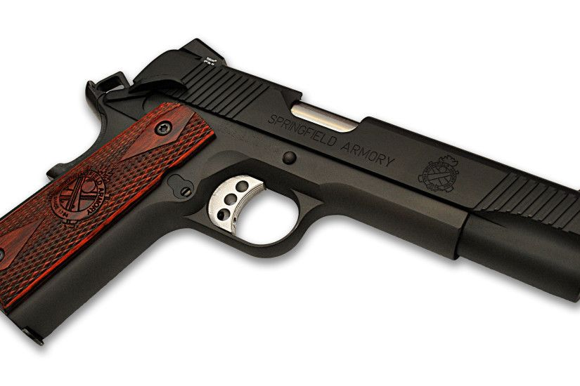 Weapons - Springfield Armory 1911 Pistol Wallpaper