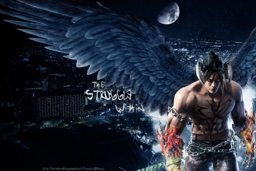 Tekken 6 Devil Jin Kazama - HD Wallpaper