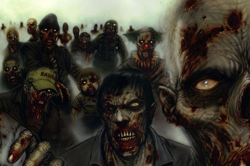 Scary Zombie Wallpaper High Definition